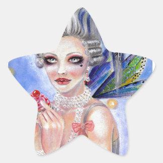 Marie Antoinette - Queen of Cupcakes Stickers