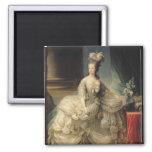 Marie Antoinette  Queen of France, 1779 Square Magnet