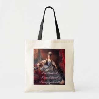 Marie Antoinette Quote Tote