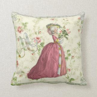 Marie Antoinette Rose Garden Pillow cushion B