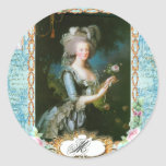 Marie Antoinette Roses and Lace Sticker