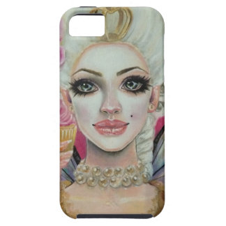 Marie Antoinette - the cupcake queen iPhone 5 Case