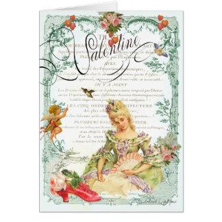 Marie Antoinette Valentine Card