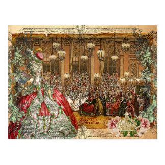 Marie Antoinette Versailles Ball Postcards