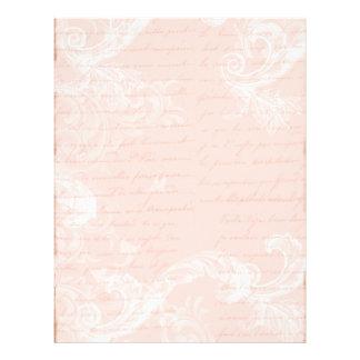 Marie Antoinette Versailles Party Pink Personalized Letterhead