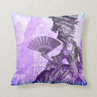 Marie Antoinette Versailles Purple Haze Pillow