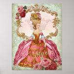 Marie Antoinette Verseilles Queen  Print