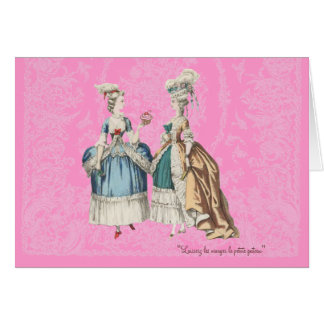 Marie Antoinette Vintage Series - ... - Customized Card