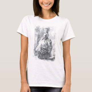 Marie Antoinette - walking in a garden. T-Shirt