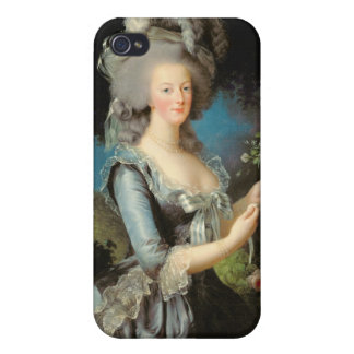 Marie Antoinette with a Rose, 1783 iPhone 4/4S Cases