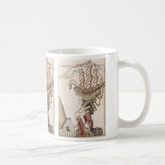 MARIE ANTOINETTE WITH THE HAIRSTYLE BOAT CLASSIC WHITE COFFEE MUG