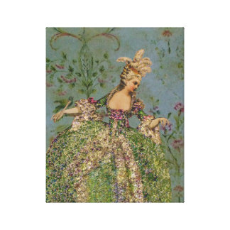 Marie Antoinette ~ Wrapped Canvas #16 Gallery Wrapped Canvas