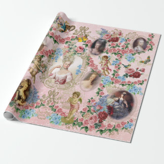 Marie Antoinette Wrapping Paper Rose of Versailles