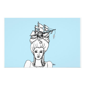 Marie by the Sea Whimsical Stationery
