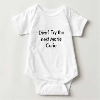 Marie Curie Baby Bodysuit