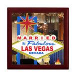 Marié dans la boîte-cadeau de Las Vegas Boîtes À Babioles