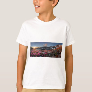 Marie Lakes Sunrise - John Muir Trail - Ansel Adam T-Shirt