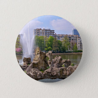 Marie-Louise square in Brussels, Belgium 2 Inch Round Button