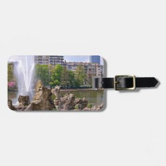Marie-Louise square in Brussels, Belgium Bag Tag