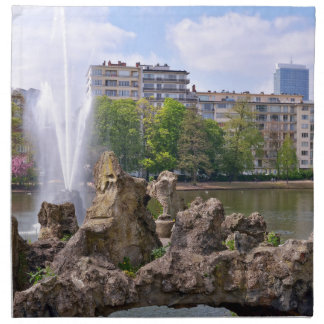 Marie-Louise square in Brussels, Belgium Napkin