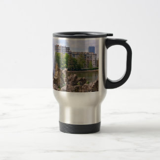 Marie-Louise square in Brussels, Belgium Travel Mug