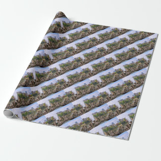 Marie-Louise square in Brussels, Belgium Wrapping Paper