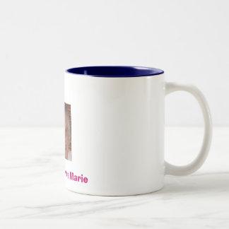 marie, Richard Loves Marie Two-Tone Coffee Mug