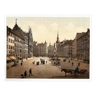 Marienplatz, Munich, Bavaria, Germany magnificent Postcard