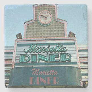 Marietta Diner Marietta,Ga. Marble Stone Coaster. Stone Coaster
