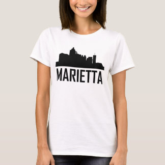 Marietta Georgia City Skyline T-Shirt