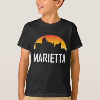 Marietta Georgia Sunset Skyline T-Shirt