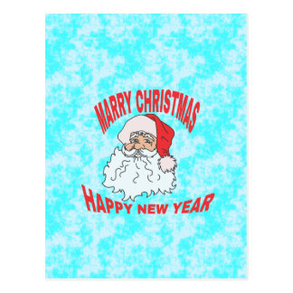 mariez le christmast carte postale