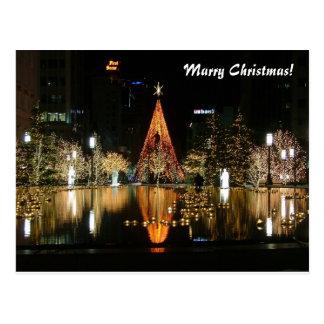 Mariez Noël ! Carte Postale