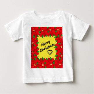 Mariez Noël T-shirt Pour Bébé