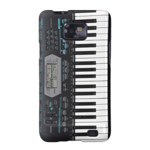 """Mariez Samsung Galaxy S «PIANO """" Galaxy S2 Case"""