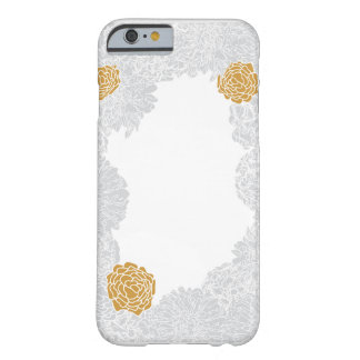 Marigold Blooms White: iPhone 6/6s, Barely There Barely There iPhone 6 Case