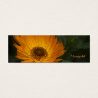 Marigold Bookmark Mini Business Card