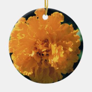 Marigold Ceramic Ornament