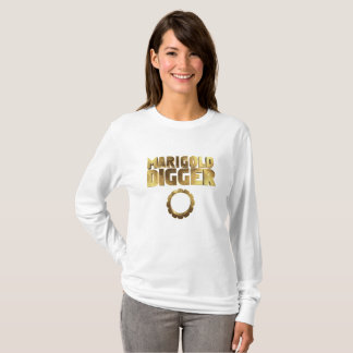 Marigold digger black gold T-Shirt