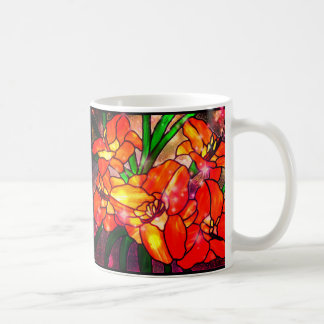 Marigold~Flower Designed Mug