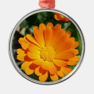 marigold flower metal ornament