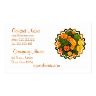 Marigold Flowers Business Card
