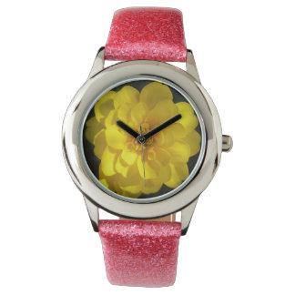 Marigold Golden Yellow Wrist Watch