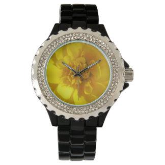Marigold Golden Yellow Wristwatch