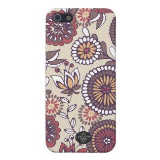 Marigold in Earth Tones iPhone Case iPhone 5 Cases
