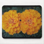"""Marigold Mouse Pad""""Twins"""""""