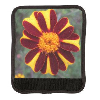 Marigold Velvet Rich Red Yellow Flower Handle Wrap