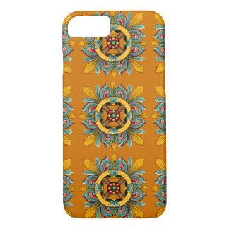 Marigold Victorian Tile Design iPhone 8/7 Case