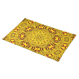 Marigolds Colorful Cloth Placemats