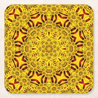 Marigolds Colorful Coasters